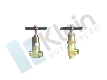 Valve for ammonia cylinder NH3