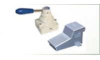 Directional control valves, manually [hand/foot] actuated